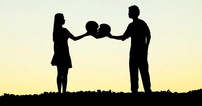 signals impending divorce