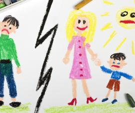 divorce impact on children